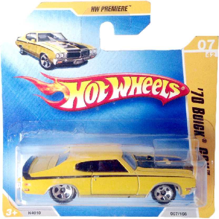 Carrinho linha 2009 Hot Wheels 70 Buick GSX series 07/42 007/166 N4010 escala 1/64