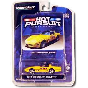 Carrinho para Coleção Chevrolet Corvette Waterford Police (1981) R3 29680