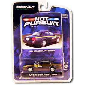 Carrinho para Colecionar Ford Crown Victoria Boone Police (2008) R3 29680