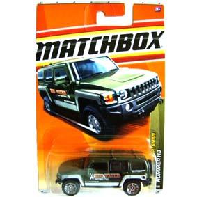 Carrinhos Coleção Matchbox escala 1/64 Hummer H3 T8980