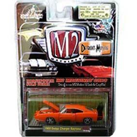 Carrinhos Colecionáveis 1/64 M2 Dodge Charger Daytona (1969) R4 31600