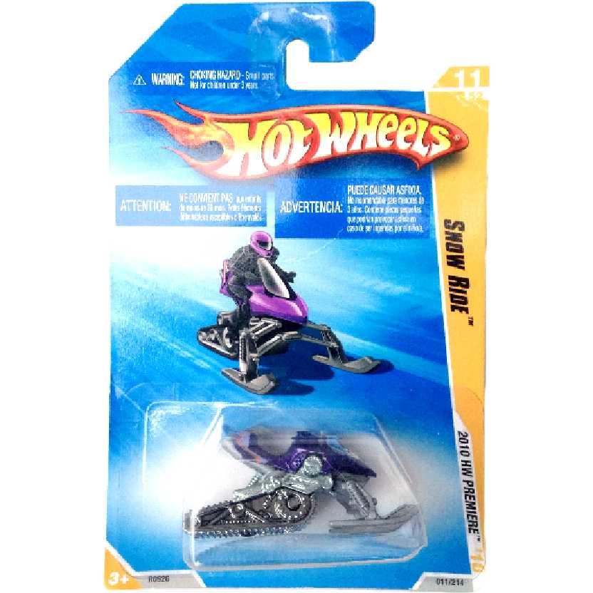 Carrinhos da Coleção 2010 Hot Wheels Snow Ride series 11/52 011/214 R0926