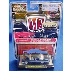 Carrinhos de Coleção 1/64 M2 Plymouth Belvedere (1958) série 5B R5B 31500