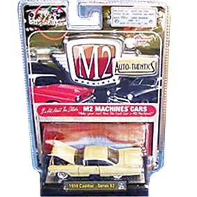 Carrinhos de Coleção Antigos M2 Cadillac Series 62 (1959) 1/64 série 5B R5B 31500