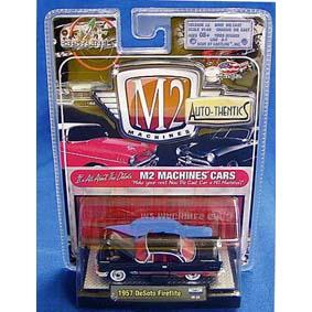 Carrinhos de Coleção M2 DeSoto Fireflite (1957) 1/64 série 5B R5B 31500