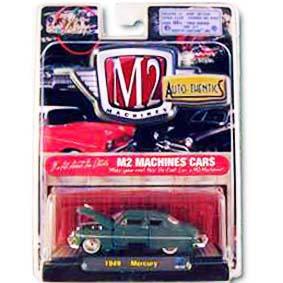 Carrinhos de Colecionadores M2 Machines 1/64 Mercury (1949) série 5B R5B 31500