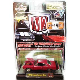 Carrinhos de Ferro Antigos M2 Machines Dodge Super Bee (1970)  R4 31600