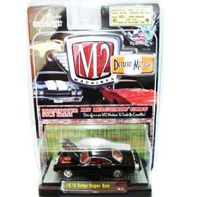 Carrinhos de Ferro Coleção M2 Machines Dodge Super Bee (1970) R4 31600