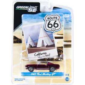 Carrinhos de Ferro para Coleção Greenlight 1/64 Ford Mustang GT (1965)  R1 29700