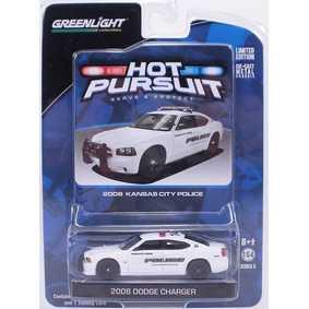 Carrinhos Escala 1/64 Greenlight Dodge Charger (2008) Kansas City Police R5 42620