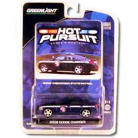 Carrinhos para Colecionar Dodge Charger Winconsin Police (2008) R3 29680