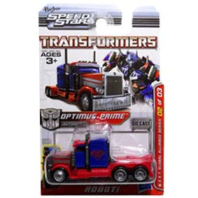 Carrinhos Transformers Speed Stars Optimus Prime Nest Series