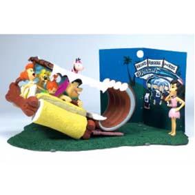 Carro do Fred Flintstones - Flintmobile ( Mcfarlante Toys ) action figures
