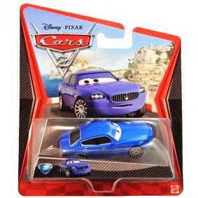 Carros 2 Bindo do filme Cars 2 Disney ( Maserati Quattroporte ) raro