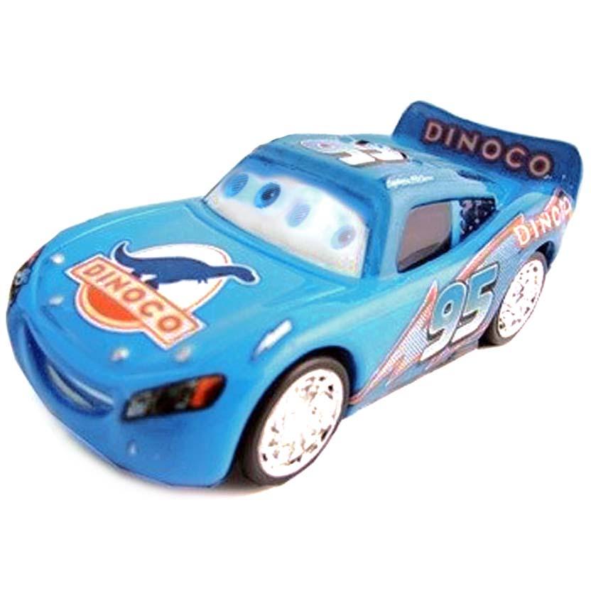 Carros Disney Pixar ( Cars ) Bling Bling Lightning McQueen número 8 com movimento nos olhos