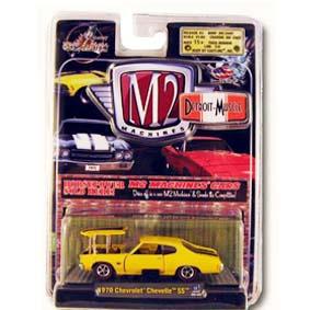 Carros em Miniaturas para Coleção M2 escala 1/64 Chevrolet Chevelle SS (1970) R3 31600