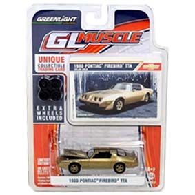 Carros Greenlight Collectibles Pontiac Trans Am (1980) GL Muscle série 3 R3 13030