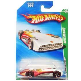 Carros Hot Wheels linha 2010 Chevroletor T-Hunt Series 054 (Raridades HW) R7435