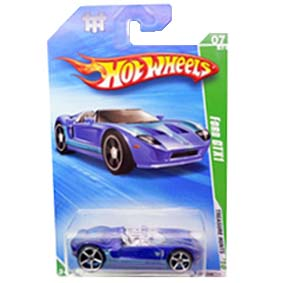 Carros Hot Wheels linha 2010 Ford GTX1 T-Hunt Series 051 (HW Raros) R7440