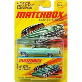 Carros Matchbox Coleção 2011 Lesney Edition 55 Cadillac Fleetwood (1955) 1/64