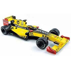 Carros Miniaturas para Coleção Norev F1 Renault R30 Team Show Car (2010)
