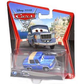 Cars 2 Disney Pixar Mattel Otis #43 filme Carros II