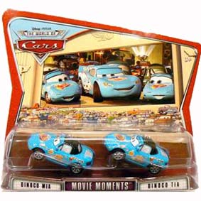 Cars Dinoco Mia e Dinoco Tia
