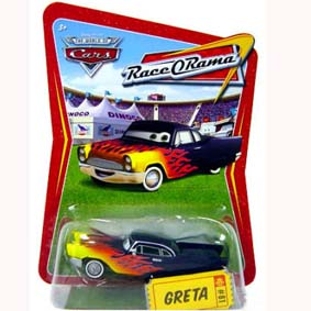 Cars Greta Race O Rama (Carros)