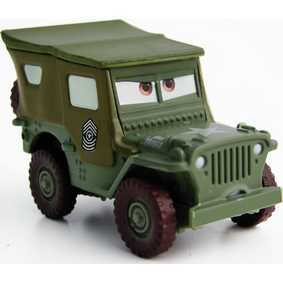 Cars Sarge - Carros (aberto)