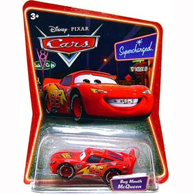 Cars Supercharged Bug Mouth McQueen (Carros)