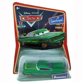 Cars Supercharged Green Ramone