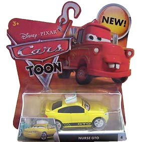 Cars Toon Nurse GTO