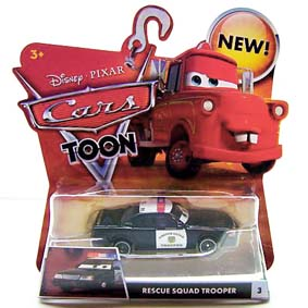 Cars Toon Rescue Squad Trooper