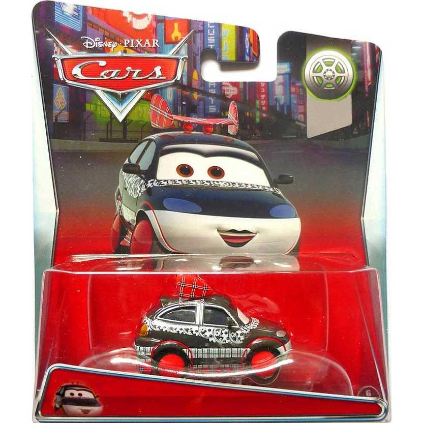 Cars Tuners 6/8 Chisaki - Disney Pixar Carros escala 1/55