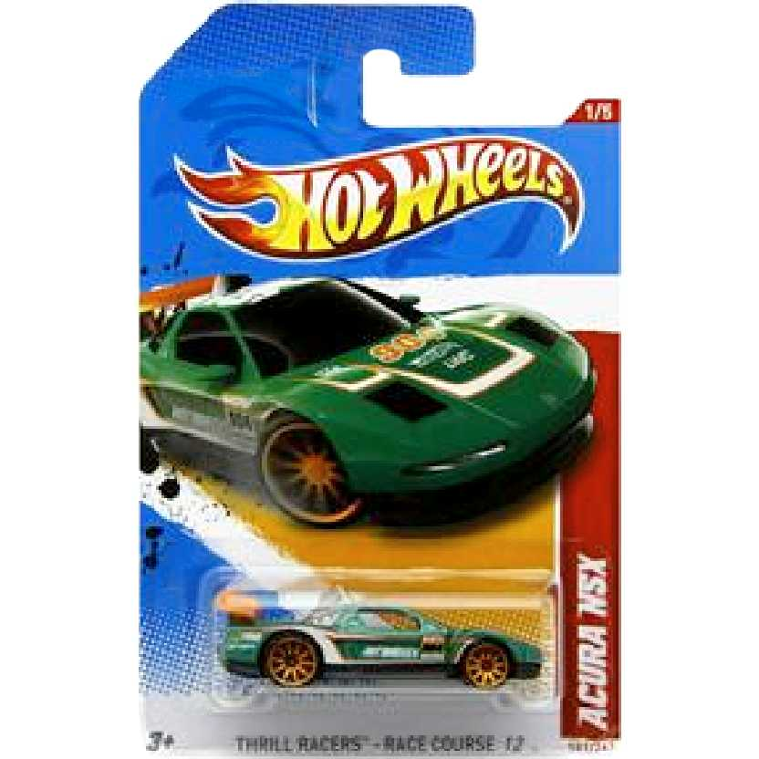 Catálogo 2012 Hot Wheels Acura NSX V5485 series 1/5 181/247 escala 1/64 RARO