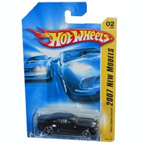 Catálogo Hot Wheels 2007 Chevy Camaro Concept preto K6134 series 02/36 002/180