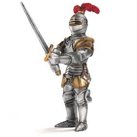 Cavaleiro com espada grande - 70010 Miniaturas Schleich do Brasil