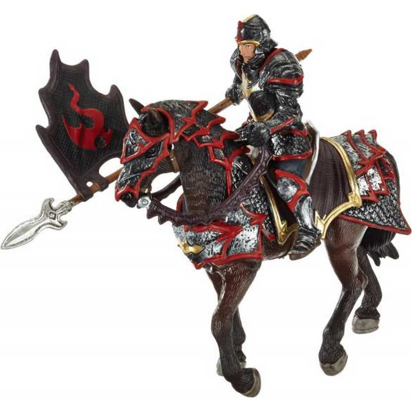 Cavaleiro com lança marca Schleich - 70102 Dragon Knight on Horse with Lance