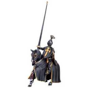 Cavaleiro Negro a Cavalo - 70032