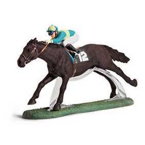Cavalo de Corrida com Jockey - 42027