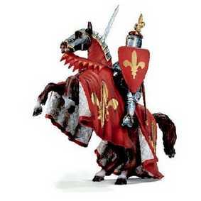 Cavalo empinando com príncipe 70018