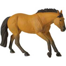 Cavalo Quarto de Milha ( Miniatura Animal Safari Ltd ) 30025 Buckskin Quarter Horse