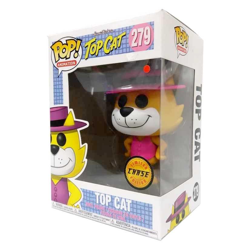 Chase Funko Pop Manda Chuva Hanna Barbera Top Cat vinyl figure número 279 Raro