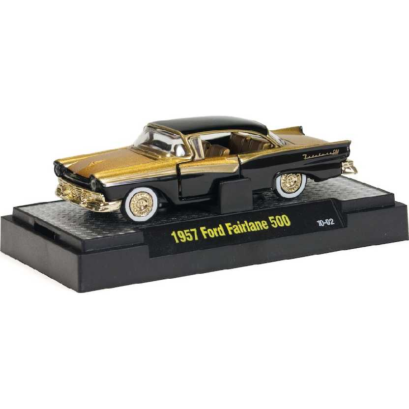 CHASE M2 Machines Auto-Thentics 1957 Ford Fairlane 500 escala 1/64 R11 31500