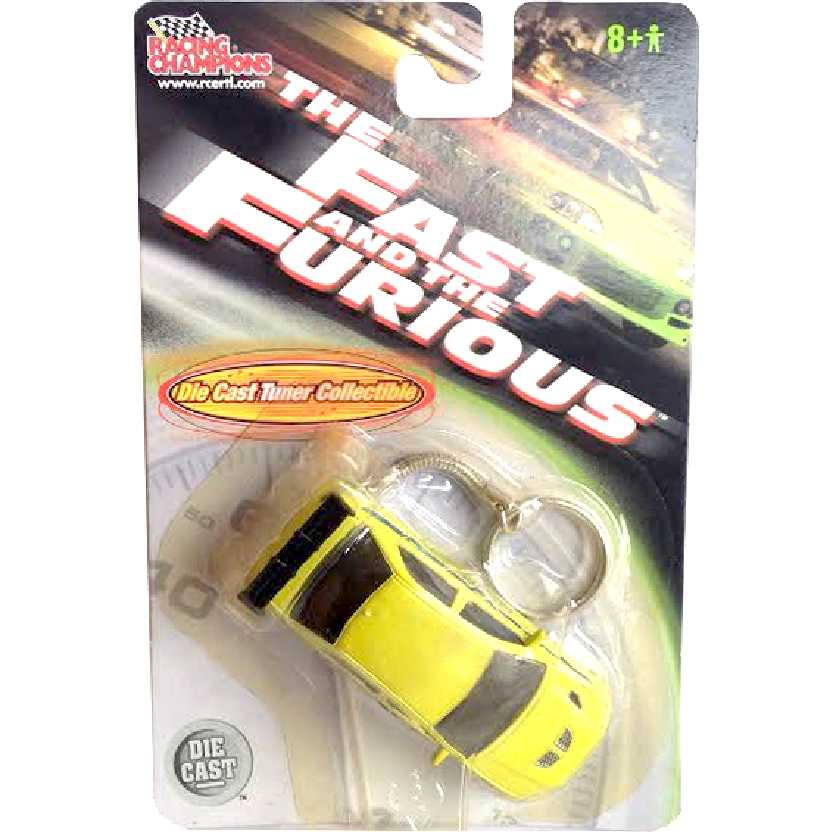 Chaveiro + Velozes + Furiosos Mitsubishi Lancer (2002) Racing Champions/ERTL escala 1/64