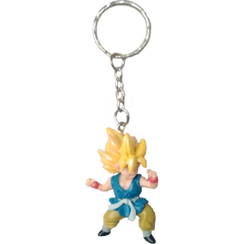 Chaveiro / Boneco Dragon Ball GT Kai 2 Kid Super Saiyan Goku (Gokou) da Bandai