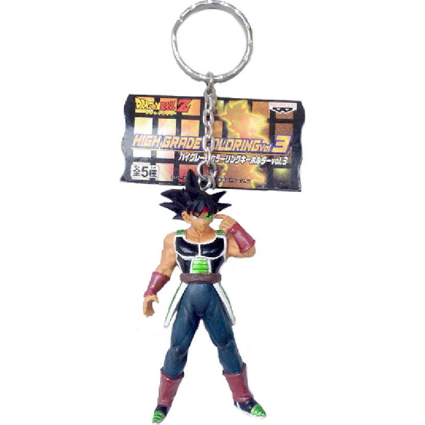 Chaveiro / Boneco Dragon Ball Z Bardock Banpresto High Grade Coloring Vol. 3