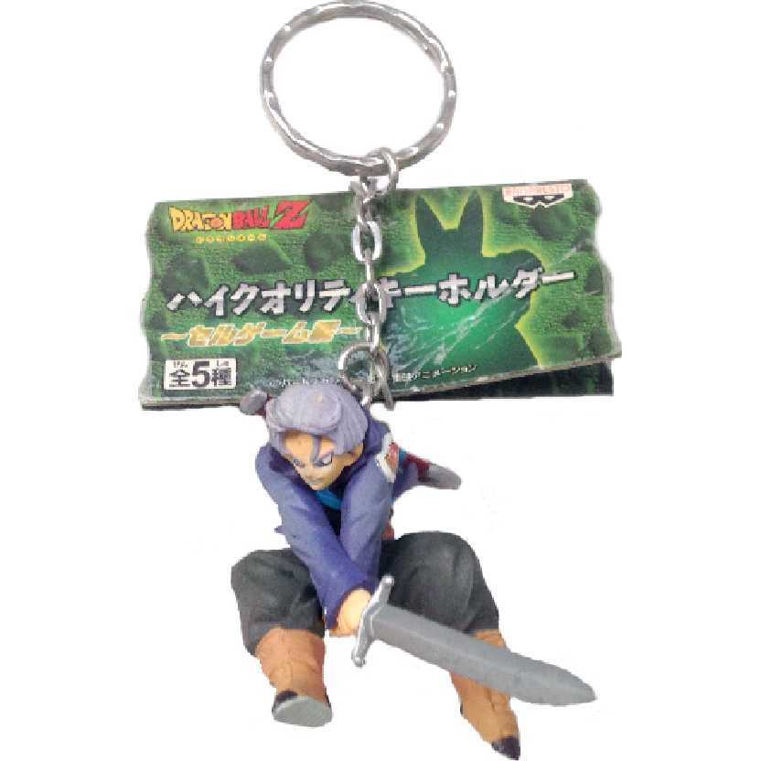 Chaveiro / Boneco Dragon Ball Z Future Trunks (Cell Saga) da Banpresto figure