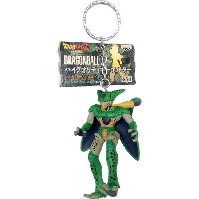 Chaveiro / Boneco Dragon Ball Z Imperfect Cell da Banpresto