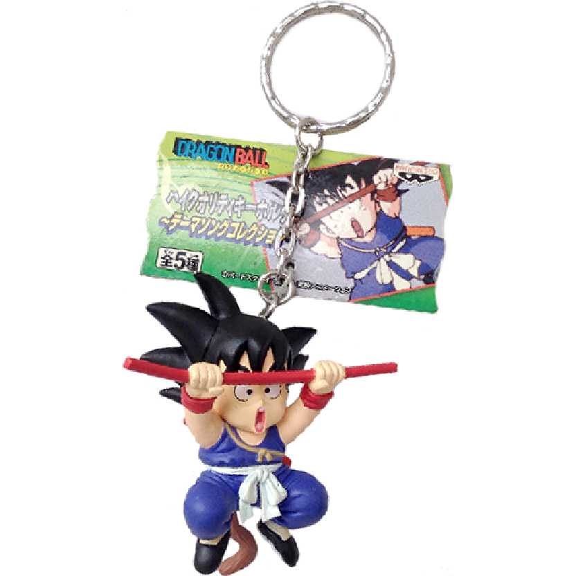 Chaveiro / Boneco Dragon Ball Z Kid Goku (Gokou Kid) Z Bulma Theme Song Collection Banpresto
